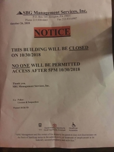 fake eviction notice